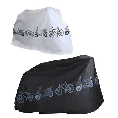 Motorcycle Motor Bike Scooter Waterproof UV Dust Snow Proof Protector Rain Cover 10