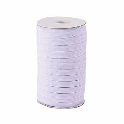 Round Flat Elastic Bungee Rope Shock String Stretchable Cord Dress Making Craft 8