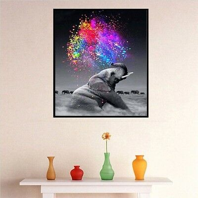 Animal DIY 5D Diamond Painting Embroidery Cross Craft Stitch Art Kit Home Decor 7