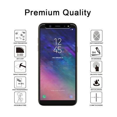 Transparente coque Samsung Galaxy A6/A6Plus 2018+ Verre trempé écran protecteur 4