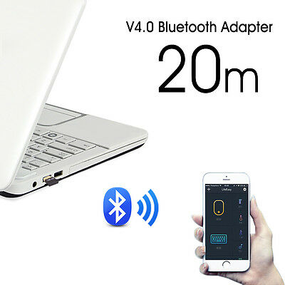 Mini Wireless USB Bluetooth 4.0 Adapter Dongle For PC Laptop Win XP Vista7/ 8/10 2