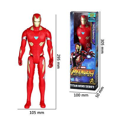 Avengers Infinity War Titan Hero Series Thanos Spiderman Hulk Action Figures