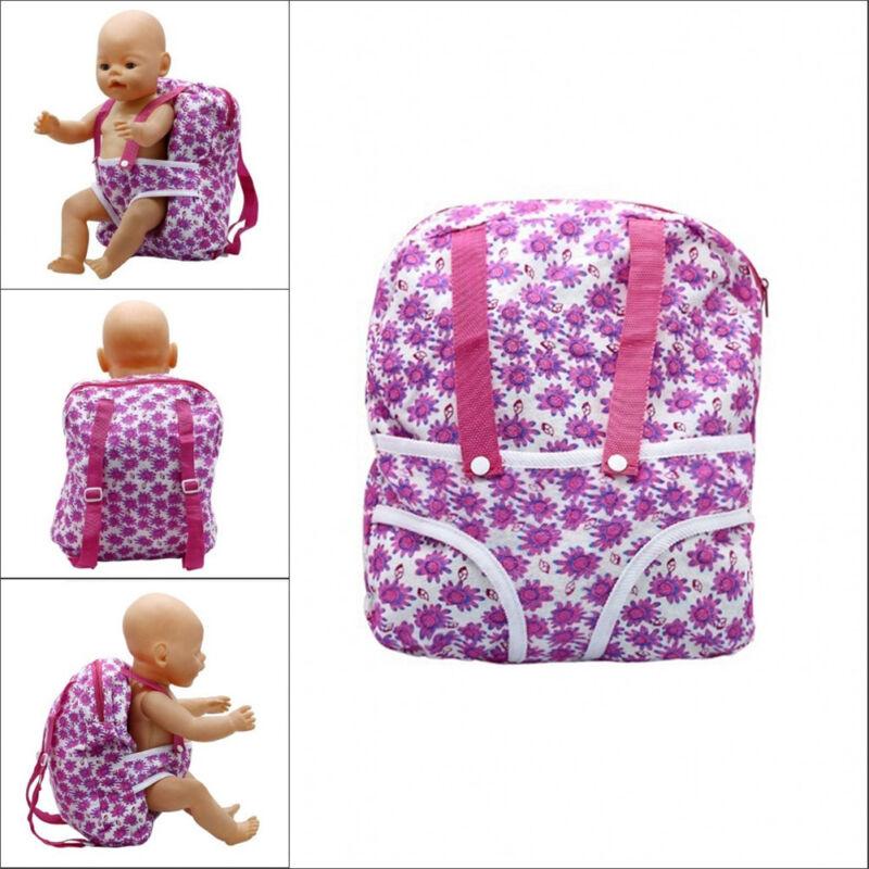 18IN KINDER RUCKSACK Puppe Träger Schlafsack Für American Girl ...