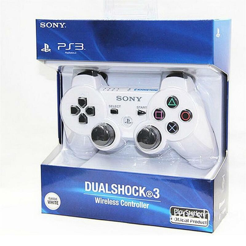 PS3 For PC Wireless Bluetooth Remote Dual Shock Controller Gamepad Joystick 7
