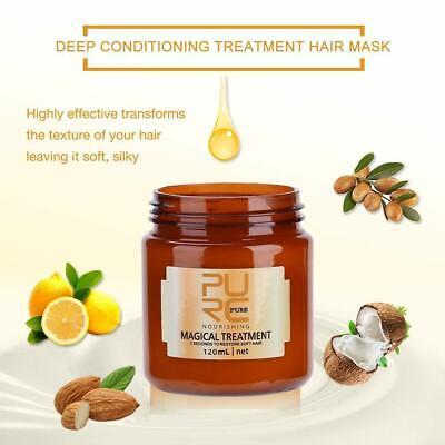 PURC Magical Treatment Mask 5 Seconds Repairs Damage Restore Soft Hair 60 120mL 8