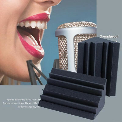 Acoustic Bass Soundproof Acoustic Studio Foam Board Sound Absorption Sponge Tile 6