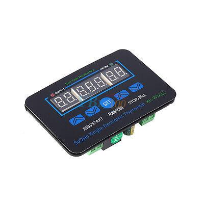 10A Digital LED Temperatura Termostato Controlador Conmutador Sensor + 1m Sonda
