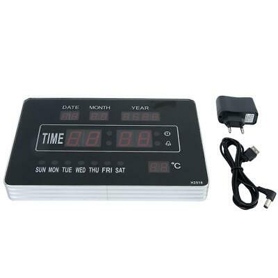 Calendrier électronique multifonctionnel avec horloge numérique et affichage 11