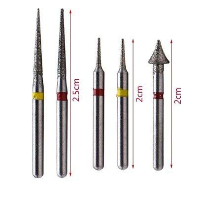 1Kit Dental High Speed Diamond Burs Orthodontic Interproximal Enamel Sets 4