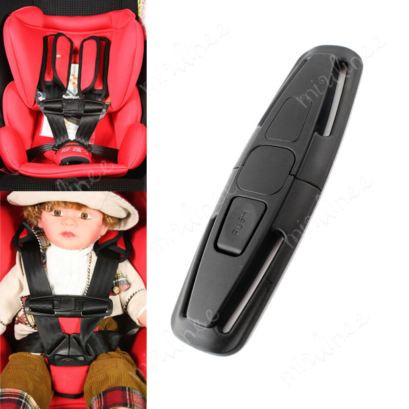 UK Baby Car Safety Seat Clip Strap Buckle Child Toddler Chest Harness Safe lock 2