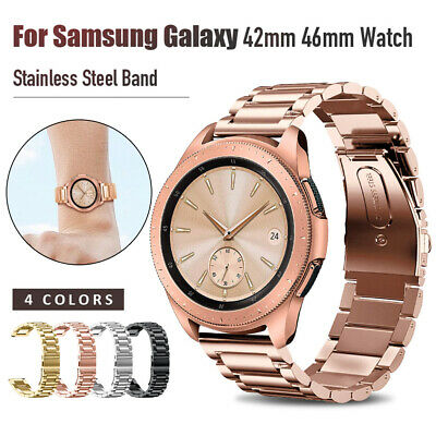 Stainless Steel  Strap Metal Watch Band For Samsung Galaxy Watch 42/46mm Gear S3 2