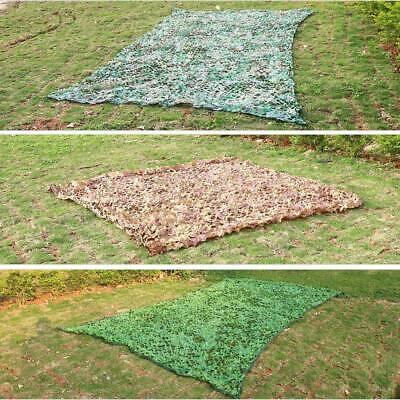 Jungle Filet de Camouflage net 7m/ 5m/ 3m Chasse Camping militaire Forêt hide FR 7