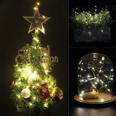 1-12 PCS 2M 20 LED Wine Bottle Fairy String Light Cork Starry Night Xmas Wedding 4