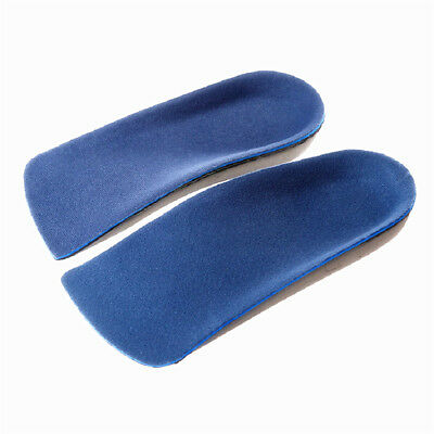 3D Orthotic Flats Feet Foot High Arch Gel Heel Support Shoe Inserts Insoles Pads 5
