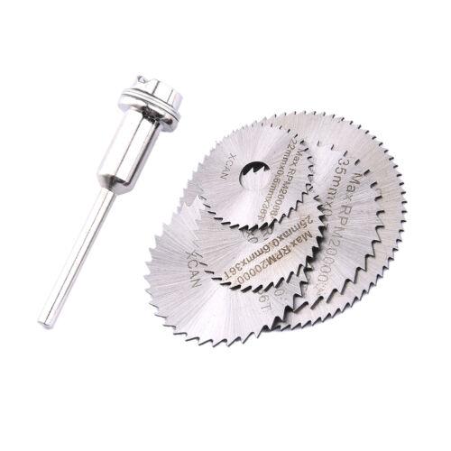 HSS Circular Saw Disc Set Mini Drill Rotary Tool Cutting Blade Accessorie 6