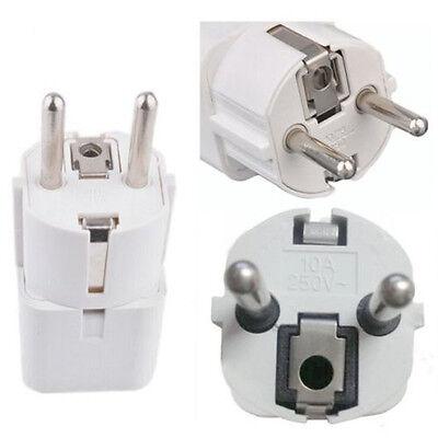USA US UK AU To EU Europe Travel Charger Power Adapter Converter Wall Plug Home 11