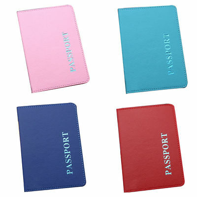 Passport Cover Wallet Travel Holder ID Cards Case Organizer Business PU Leather 8