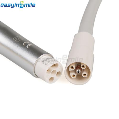 Dental Piezo Ultrasonic Scaler With 5 Tips&2 bottles Fit EMS EW3-LED EASYINSMILE 8
