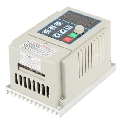 0.45kW VFD 2.5A AC 220V Single/3-Phase Speed Variable Frequency Drive Inverter 11