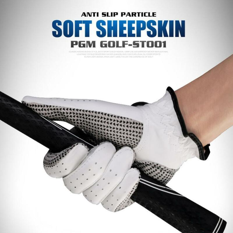 New Breathable 2018 Stratus Sport Leather White Golf Gloves Pick Size 4