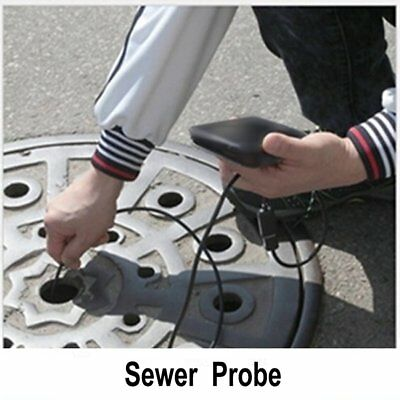 5M/17FT Plumber Pipe Inspection Camera Endoscope Video Waterproof Sewer Drain GG 3