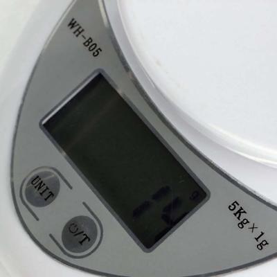 5kg 5000g/1g Digital Electronic Kitchen Food Diet Postal Scale Weight Balance Ar 9