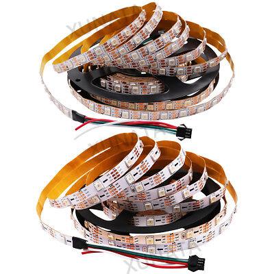 1m 5m 5V WS2812B 5050 RGB 30/60LEDs/M LED Strip ws2812 IC Individual Addressable 6