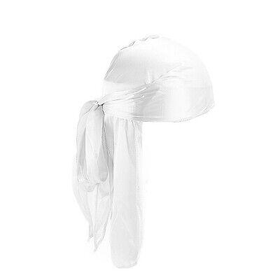 Unisex Headwrap Men Women Bandana Turban Cap Durag do doo du rag Long Tail Hat # 6