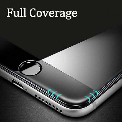 For Apple iPhone 7 8 Plus - 3D Full Cover Curved Tempered Glass Screen Protector 3