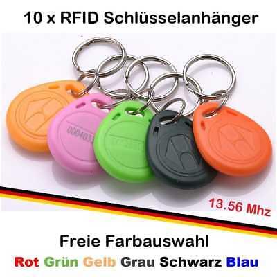 10 x RFID Tag Transponder Key Keyfob 125 kHz Schlüsselanhänger Chip s Tags