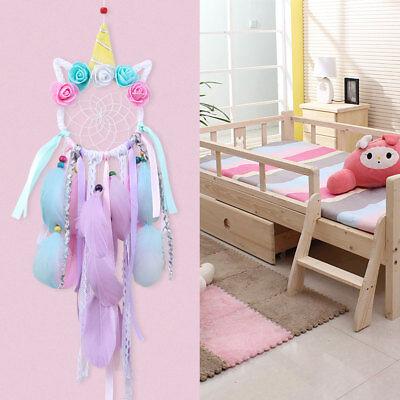 Handmade Colorful Unicorn Dream Catcher Girl's Gift Wall Hanging DreamCatcher 6