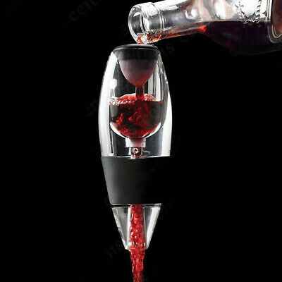 Magic Decanter Pourer Essential Aerating Air Hopper Red Wine Aerator Filter Set 5
