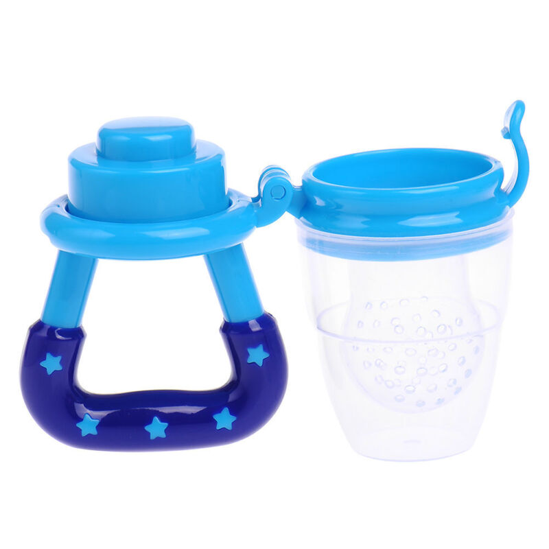 Baby-Food Fruit Soft Nipple Feeder Safety Silicone Pacifier Feeding Tool Teether