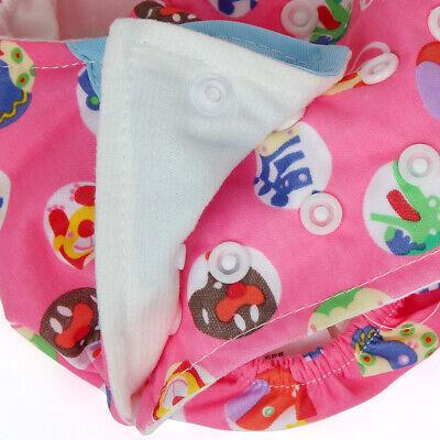 Babywindeln Baumwolle Überhose Stoffwindel Windelhose Waschbar Einlage Unterlage 7