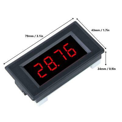 1PC 5135A DC5V High Accuracy DC Voltmeter 3 1/2 Digital Panel Meter with Red LED 9