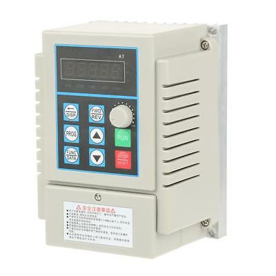 0.45kW VFD 2.5A AC 220V Single/3-Phase Speed Variable Frequency Drive Inverter 5