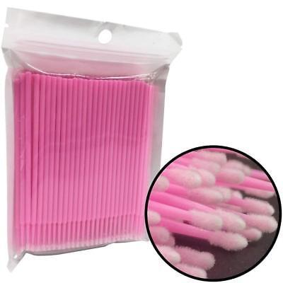 100/300/500pc Dental Micro Brush Disposable Material Tooth Applicators Medium 12