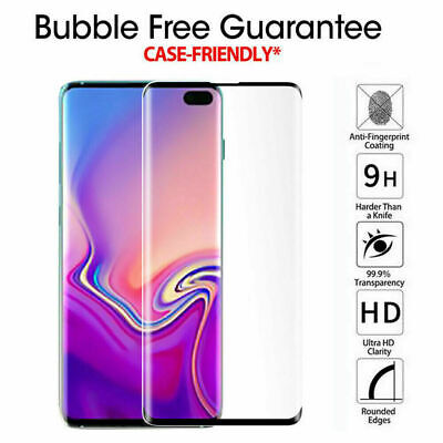 5D Tempered Glass Screen Protector For Samsung Galaxy S7 S8 S9 S10e S10 Plus Yc 9