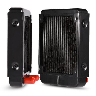 Computer PC CPU Fans Cooler Heat Sink Water Cooling Aluminum 80mm/240mm Heatsink 5