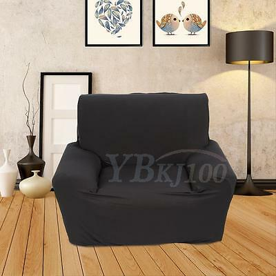 1-3 Seater Stretch Loveseat Sofa Couch Protect Cover Slipcover Washable Elastic 8