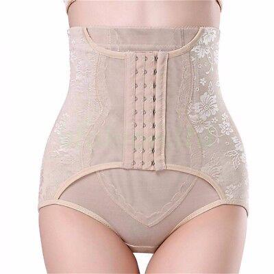 High Waist Tummy Control Girdle Panty Body Trainer Shaper Butt Lifter Cincher UK 6
