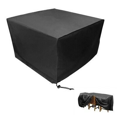 Waterproof Garden Patio Furniture Cover Covers forRattan Table Cube Seat Outdoor 2