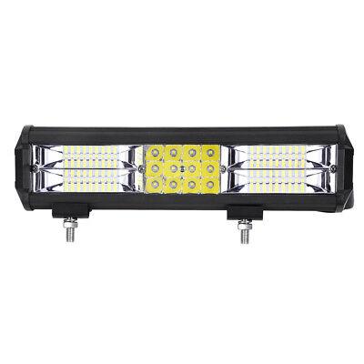 2X 288W LED Arbeitsscheinwerfer 12V 24V Offroad Scheinwerfer Traktor Bagger SUV 3