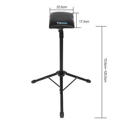 Adjustable Foldable Tattoo Tripod Stand For Arm Leg Rest Studio Chair Sponge Pad 5