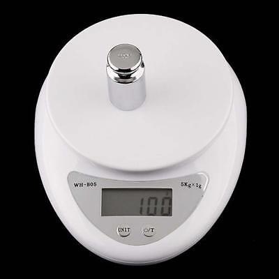 5kg 5000g/1g Digital Electronic Kitchen Food Diet Postal Scale Weight Balance Ar 8