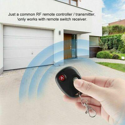 1/2/3/4Button 433Mhz Smart Remote Control Switch RF Transmitter For Garage Door 12