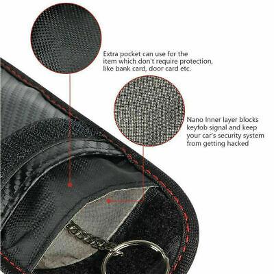 Car Key Signal Blocker Pouch Case Fob Faraday Bag RFID Security Blocking New UK✅ 3