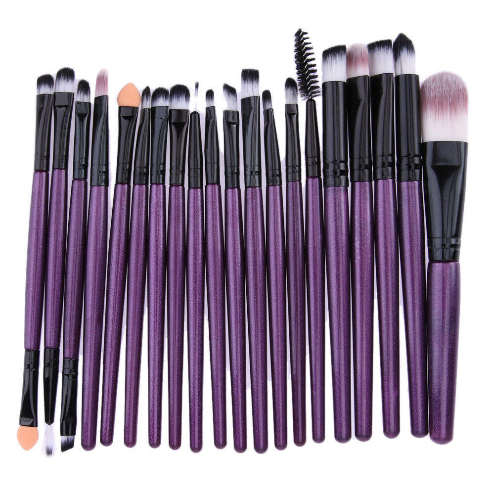 20pcs/Set Pro Makeup Brushes Kit Powder Foundation Eyeshadow Eyeliner Lip Brush 3