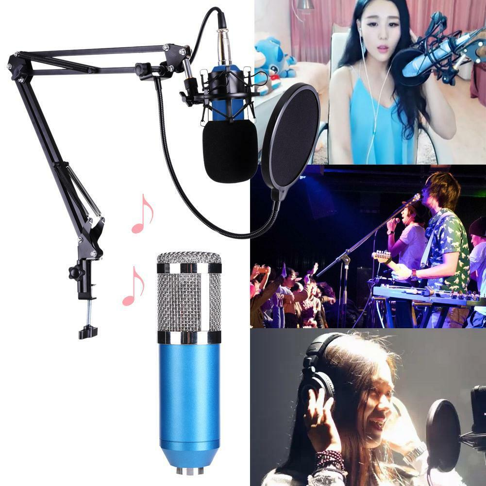 Pro KTV Microphone BM800 Condenser Wired Microphone Audio Studio Recording Mic 3