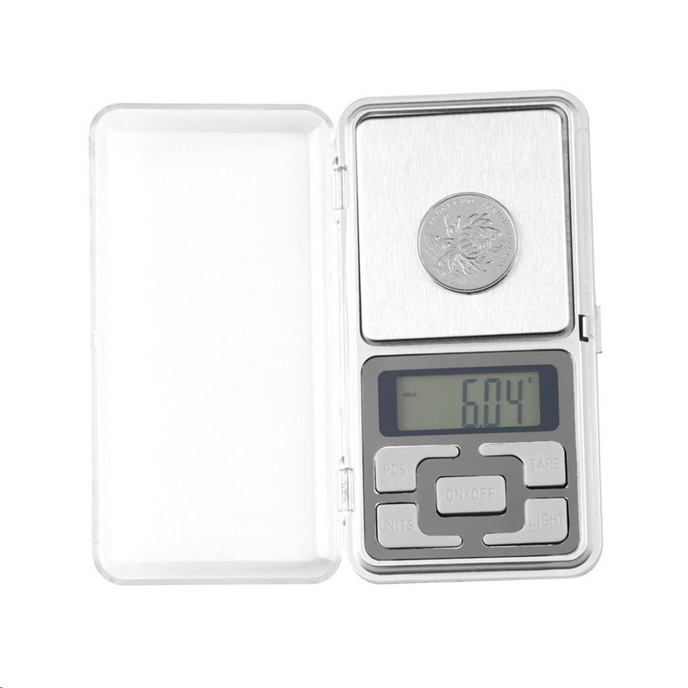 Mini Digital Balance poche électronique de Précision 0.1-500 g Pèse Bijoux herbe 2